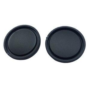Image 4 - 10 זוגות מצלמה גוף כובע + אחורי מכסה עדשה עבור Sony NEX NEX 3 E הר