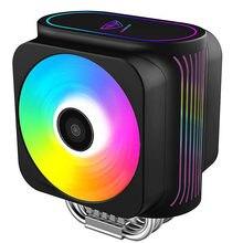 Pccooler – refroidisseur de processeur pour Intel 115X GI-D66A 2011 AMD AM4, ventilateur Double PWM adressable, rvb, 12cm, 6 caloducs, 2066