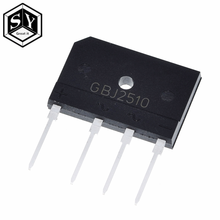 GREAT IT 5pcs 25A 1000V diode bridge rectifier gbj2510 ZIP In Stock