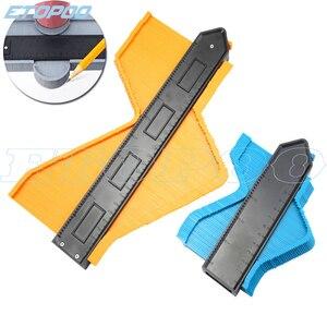 "Image 3 - 250mm 10 ""/120mm 5"" profil kopya kontur ölçer 10 ""kendinden kilitli genişletmek teksir standart ahşap markalama döşeme laminat fayans Tools"