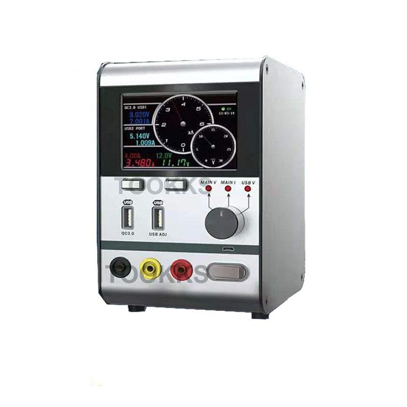 HR3006 30V 6A regulador de voltaje inteligente potencia de corriente con puerto de carga USB rápida herramienta de reparación de teléfono actualizada de HR1203 - 2