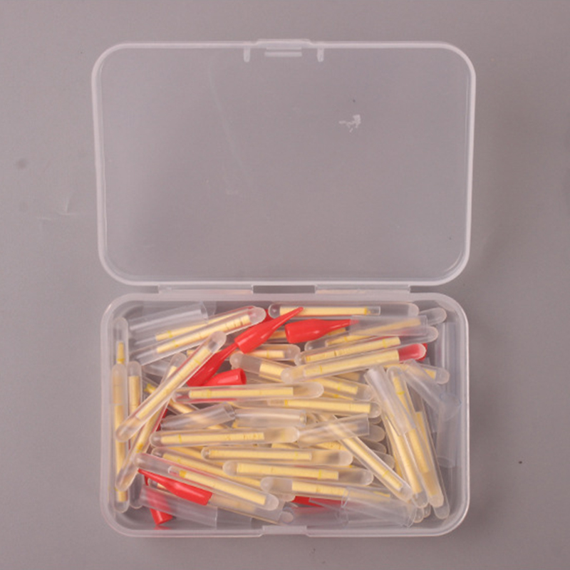 10 шт./50 шт. сумка 2,2 мм-4,5 мм светлячки для рыбалки Флуоресцентный светильник-палка Ночник светильник-поплавок s темная светящаяся палка