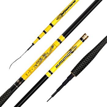 Taiwan Fishing Rod High Carbon Ultralight Ultrafine Superhard 28 Tone Carp Rod Fishing Gear 4.5m only 97g