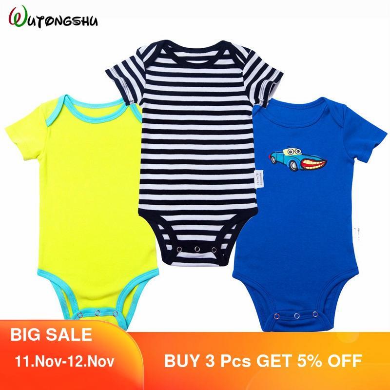 3 шт./лот; Комбинезон для новорожденных мальчиков и девочек; Детский комбинезон; Одежда для маленьких девочек; Roupa De Bebe; Одежда для маленьких мальчиков|Ромперы| | АлиЭкспресс