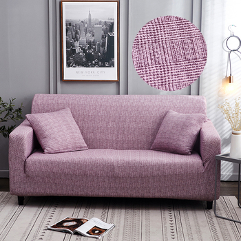 Sofa Covers for Living Room Modern Floral Printed Stretch Sectional Slipcover Polyester L Shape Armchair Couch Case 1/2/3/4 Seat 7