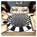 Ковер для гостиной в британском стиле  хлопковый коврик с рисунком  трехмерная картинка  нескользящий коврик