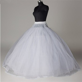 NUOXIFANG Free shipping High Quality White Petticoat Crinoline Slip Underskirt For Wedding Dress Bridal Gown In Stock 2020 2018 new hot sell 6 hoops big white petticoat super fluffy crinoline slip underskirt for wedding dress bridal gown in stock