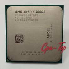 Amd Athlon 200GE X2 200GE 3.2 Ghz Dual-Core Quad-Draad Cpu Processor YD200GC6M2OFB Socket AM4 Geen Koeler