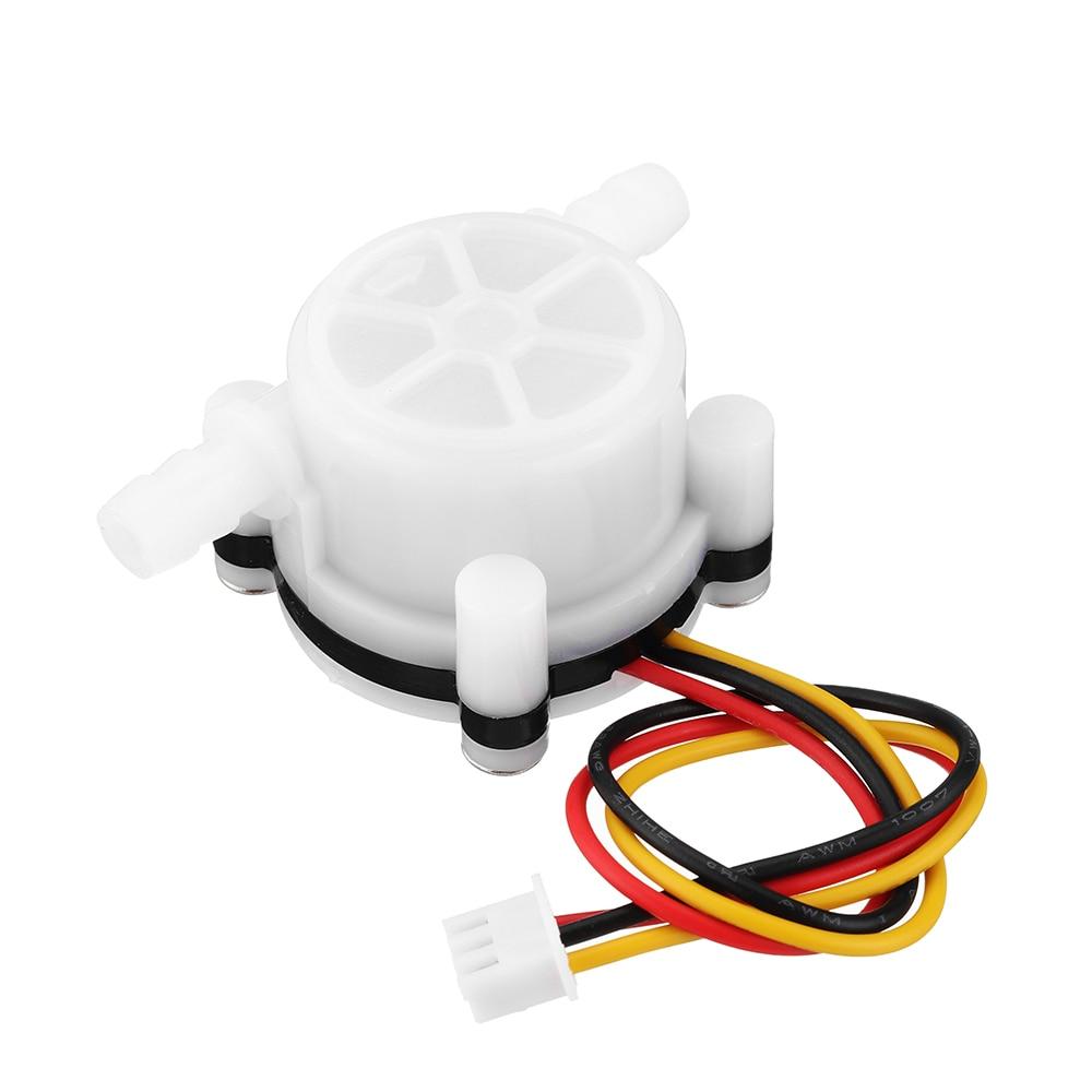 Water Meter Flow Sensor Counter Indicator Dispenser Flowmeter 0.15-3L/min