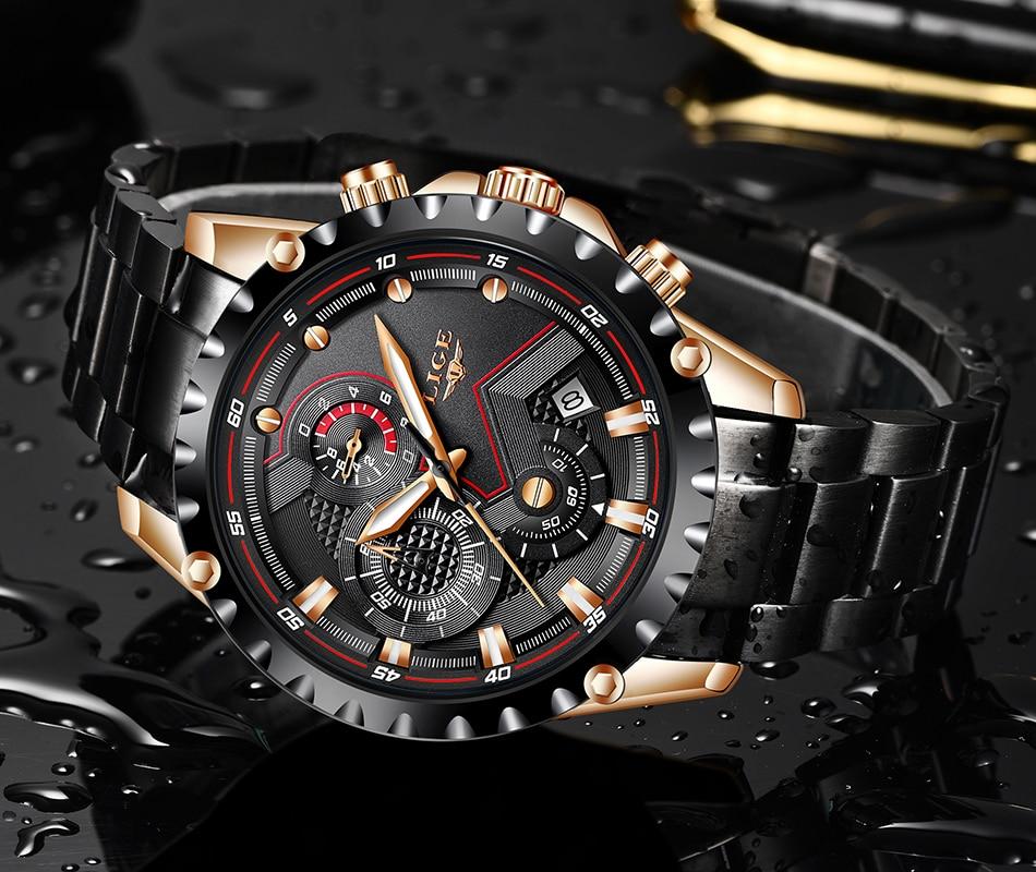 Hba504e9c6a924d699148fcf87378b6e4Z LIGE Top Brand Luxury Mens Fashion Watch Men Sport Waterproof Quartz Watches Men All Steel Army Military Watch Relogio Masculino
