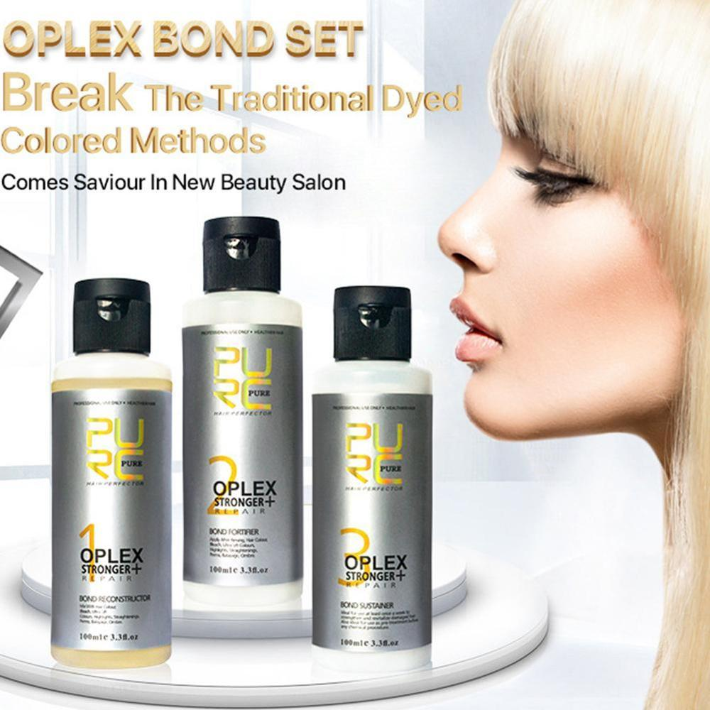 Purc Oplex Bond Repair Connections Of Damaged Hair, Strengthen Hair Toughness And Elasticity Hair Treatment|Hair & Scalp Treatments|   - AliExpress