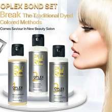 Ремонтные соединения поврежденных волос purc oplex bond укрепляет
