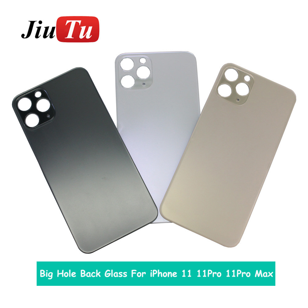 Back Cover Glass Rear Housing For iPhone X 8 Plus XS XSMAX Rear Door Body Assemble Housing with big hole (4)