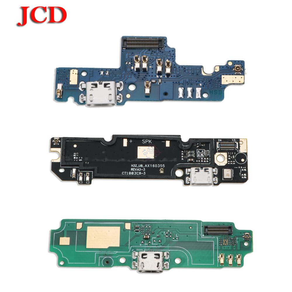 JCD 2PC USB Power Charge Connector Plug Port Dock Flex Cable For Xiaomi For Redmi 2 2A 3S 4A 4X 5A Note4X Global 4 Note 3 Pro 5A