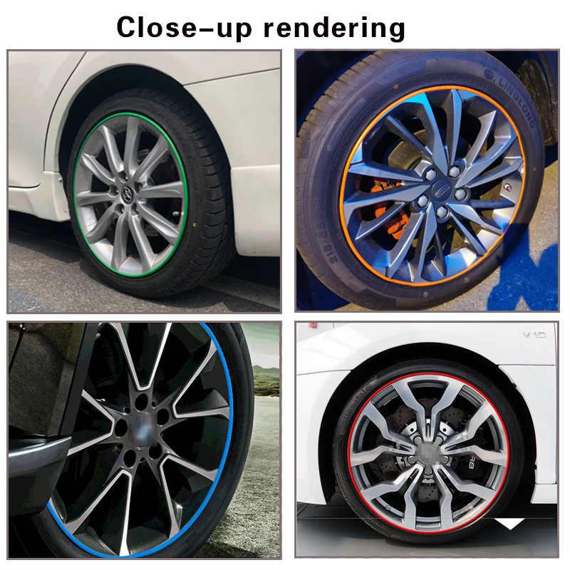 """Auto rad schutz rad aufkleber dekorative streifen rim reifen schutz Auto Rad Felgen Protektoren 8M passt 4 räder up zu 22"""""""