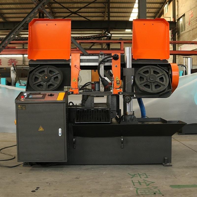 MT-H320A ЧПУ ленточнопильный станок для резки металла автомат для резки стали для продажи