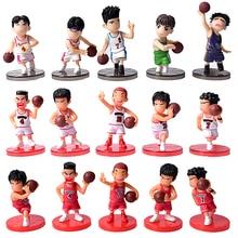 5 Teile/los SLAM DUNK Shohoku Basketball Spieler Figuren Spielzeug Hanamichi Rukawa Kaede Sakuragi Anime Modell Spielzeug