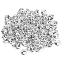 Crystal buckle of 100 pcs for sofa bed head bag clothing decoration - 25 mm