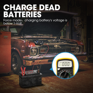 Image 4 - Topdon T1200 Automatische Batterie Ladegeräte 6V 12V Auto Batterie Ladegerät Motorrad Batterie Ladegeräte für Blei Säure Lithium Batterie