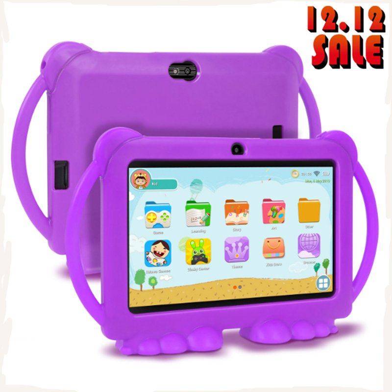 XGODY Children Learning Education Tablet Christmas Gift Kids Tablet 7inch HD With Silicone Case USB Charge Quad Core 1GB 16GB
