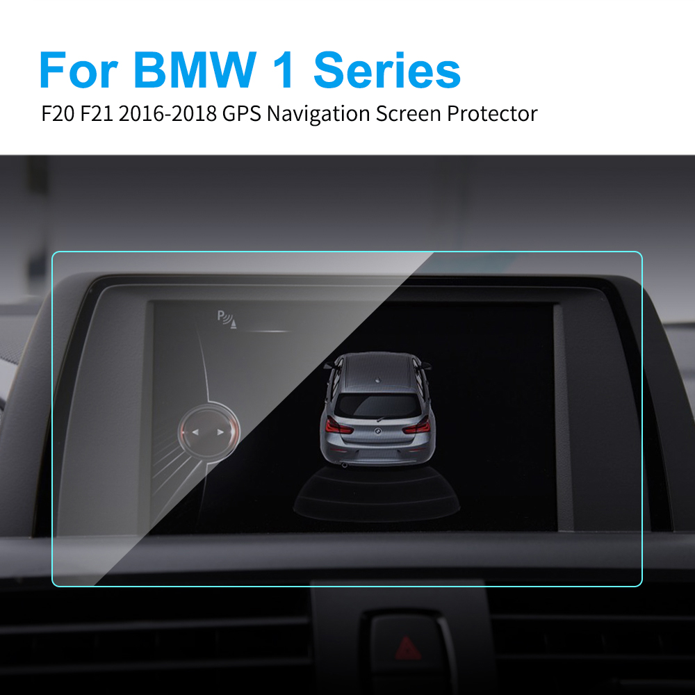 8.8 6.5 Inch Car Screen Protector for BMW F20 F21 1 Series 2016 - 2018 Auto GPS Navigation Screen Tempered Glass Protective Film image