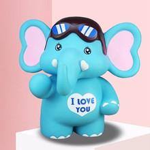 Toy Money-Box Coin-Bank Elephant Creative Children Vinyl Gifts