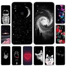 Phone Case For Huawei Honor 8A Case Silicone Soft Back Cover For Huawei Honor8A Honor 8 A Y6 Pro 2019 Cover Coque Black TPU смартфон huawei honor 8 pro black