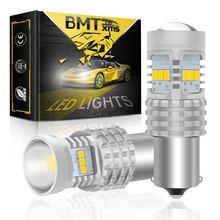 BMTxms Canbus per VW Transporter Multivan Caravelle T4 T5 T5.1 T6 Car LED Reverse Backup fanale posteriore BA15S 1156 P21W lampada automatica