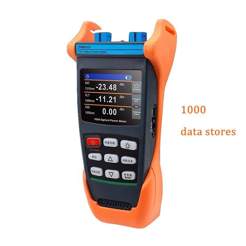 Tribrer EPN80 Version Handheld EPON/GPON PON Fiber Optical Power Meter Cable Tester Measurement Tools EPN70 Upgraded Version