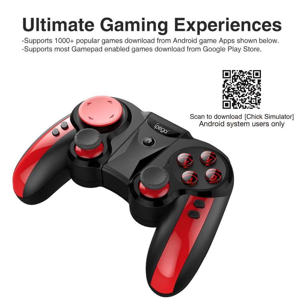 Joystick móvel da almofada do jogo de bluetooth para o telefone celular gamepad joypad gatilho android pc smartphone tablet controlador de controle jogos