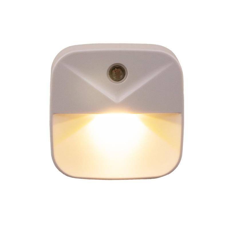 LED Night Light Mini Light Sensor Control AC 110V 220V EU US Plug Nightlight Lamp For Children Kids Living Room Bedroom Lighting
