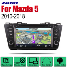 ZaiXi Android Car Radio Stereo GPS Navigation For Mazda 5 2010~2018 Bluetooth wifi 2din Multimedia Player Audio