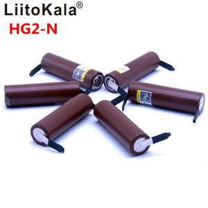 Image 1 - 2019 8PCS Liitokala new HG2 18650 3000mAh battery 18650HG2 3.6V discharge 30A, dedicated  batteries + DIY Nickel