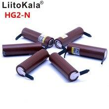 Liitokala batería de litio para dispositivos electrónicos pila de ion de litio con capacidad de 2019 mAh, capacidad de 18650 mAh, descarga de 3000 V, potencia de 30A, 8 uds, con capacidad de 3,6 mAh y de níquel de DIY