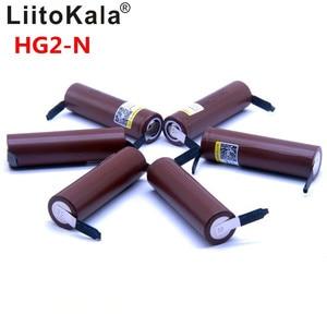 Image 1 - Liitokala batería de litio para dispositivos electrónicos pila de ion de litio con capacidad de 2019 mAh, capacidad de 18650 mAh, descarga de 3000 V, potencia de 30A, 8 uds, con capacidad de 3,6 mAh y de níquel de DIY