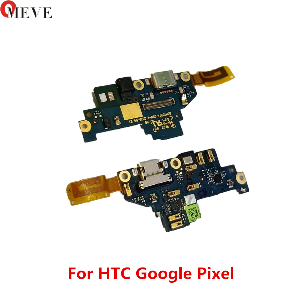 100% New Original Micro Charging Port Connector For HTC Google Pixel XL / 2 XL 2XL USB Dock Charger Flex Cable With Mic Micropho