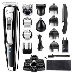 Image 1 - All in 1 professional hair trimmer waterproof hair clipper beard trimmer man electric hair cutting machine set for Facial,body
