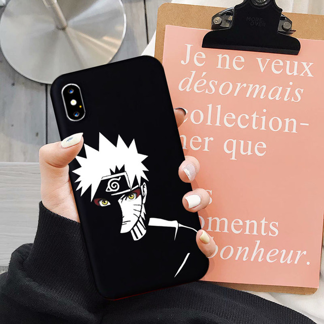 NARUTO THEMED IPHONE CASE (4 VARIAN)