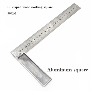 Metal Steel Engineers Try Square Set Wood Measuring Tool RIght Angle 90 Degree Right Angle Ruler Wood Measuring Tool