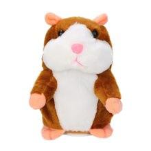 Registro juguetes parlantes del ratón Panda caminando asintiendo con la cabeza Pet grabadora de voz repetir de peluche de felpa Animal relleno juguete para regalo para chico Kawaii