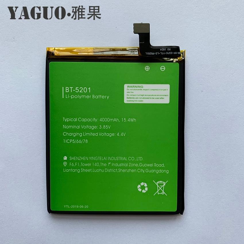 100% Original High Quality Battery 4000mAh For LEAGOO Power 2 Pro Power2 Pro BT-5201 BT5201 BT 5201 Batterie Batteria