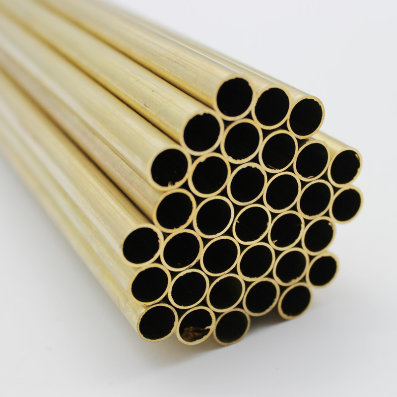 Brass Tube 2mm, 3mm, 4mm, 5mm, 6mm, 8mm 500mm Long 0.5mm Wall