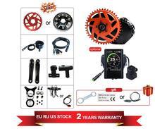 Bafang Motor de bicicleta eléctrica, BBSHD 48V1000W, 8fun, Kit de conversión de bicicleta, pantalla de colores M615