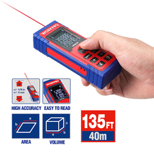 WORKPRO Laser Distance 20m 40m Meter Laser Rangefinder Digital  laser range finder tape distance measurer