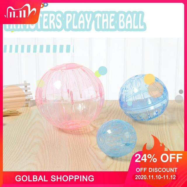Guinea Pig Motion The Ball Toy Home Small Pet Hamster Running Ball 18/31cm Rabbit Jogging Chinchilla Running The Ball