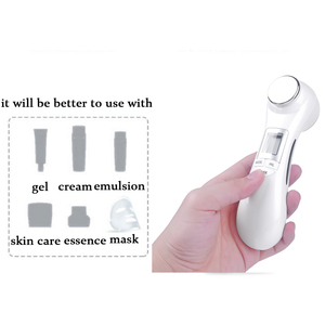 Image 5 - 6 in 1 LED RF Photon Therapy Facial Skin Lifting Rejuvenation Vibration Device Machine EMS Ion Microcurrent Mesotherapy Massager