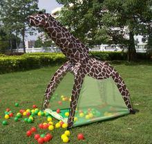 Портативная детская палатка для дома и улицы мультяшная игрушечная