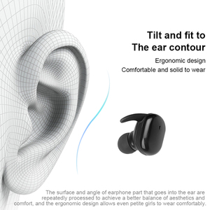 Image 4 - Kebidu W13 TWS Bluetooth Kopfhörer Touch Control Stereo Bass Drahtlose 5,0 Headset Sport Ohrhörer Mit Mic Freisprecheinrichtung Für Xiaomi
