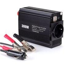 300W Car Power Inverter Converter  Car Adapter DC12V To AC220V/110V Dual USB Universal Socket Car Inverter car power inverter dc12v to ac220v 50hz 500w charge battery function