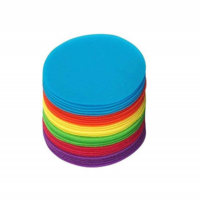 Classroom Mark Its Sitting Carpet Spots To Educate Pack Of 30 Rug Circles Marker Dots Preschool And Elementary Teachers